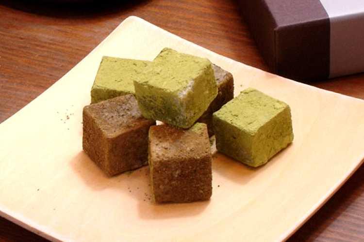 新宮茶生チョコレート