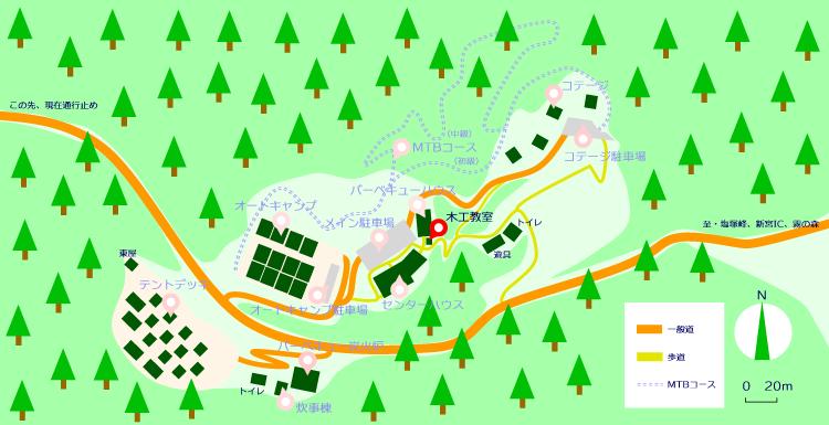 マップ(木工教室)