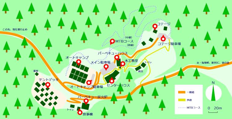 マップ(霧の高原)