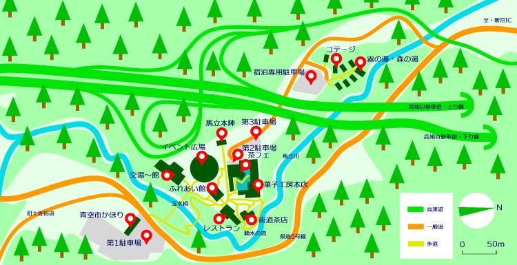 マップ(霧の森)