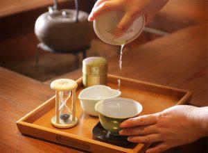 12月の新宮茶飲み比べ体験  @ 霧の森(聴水庵)