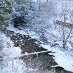雪の馬立川 202101