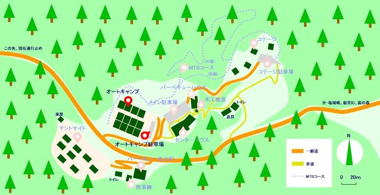 マップ(オートキャンプ)2021