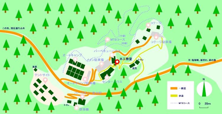 マップ(木工教室)2021